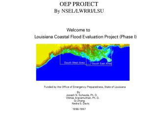 OEP PROJECT By NSEL/LWRRI/LSU