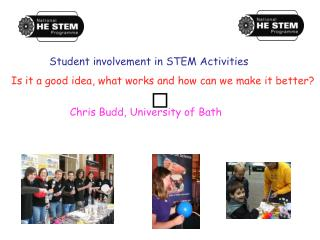Student involvement in STEM Activities