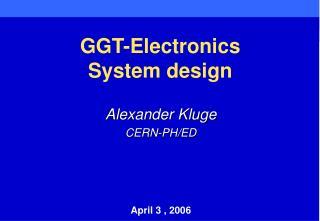 GGT-Electronics  System design