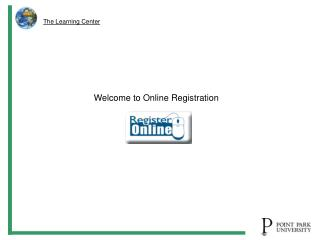 Welcome to Online Registration