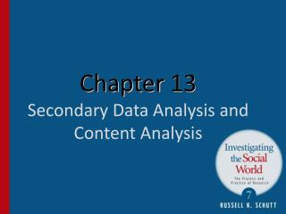 Chapter  13 Secondary Data Analysis and Content Analysis
