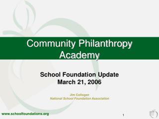 Community Philanthropy Academy