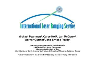 International Laser Ranging Service (ILRS)