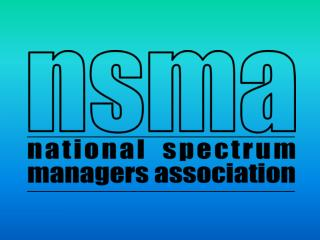 Terrestrial and Satellite Sharing Panel Discussion NSMA Annual Conference