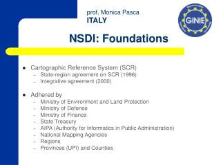 NSDI : Foundations