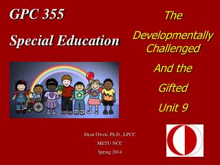 GPC 355 Special Education