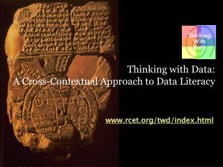 Thinking with Data:  A Cross-Contextual Approach to Data Literacy