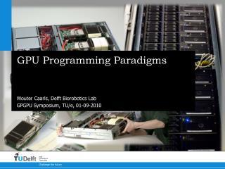 GPU Programming Paradigms