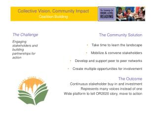 Collective Vision, Community Impact Coalition Building