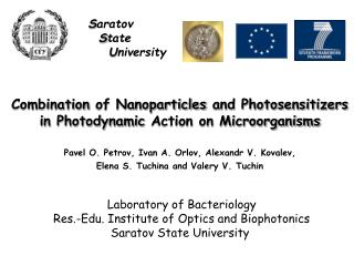 Сombination of Nanoparticles and Photosensitizers in Photodynamic Action on Microorganisms