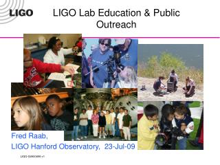 LIGO Lab Education & Public Outreach