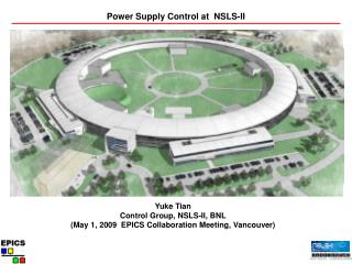 Power Supply Control at  NSLS-II