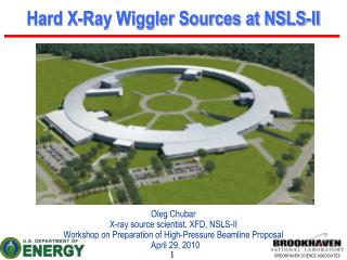 Hard X-Ray Wiggler Sources at NSLS-II