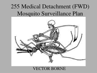 255 Medical Detachment (FWD) Mosquito Surveillance Plan