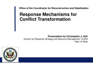 Office of the Coordinator for Reconstruction and Stabilization