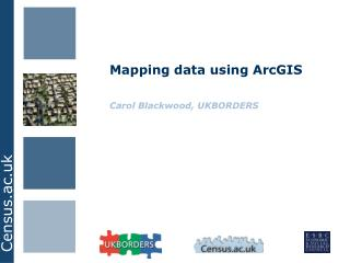 Mapping data using ArcGIS