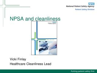 NPSA and cleanliness