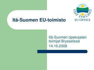 Itä-Suomen EU-toimisto