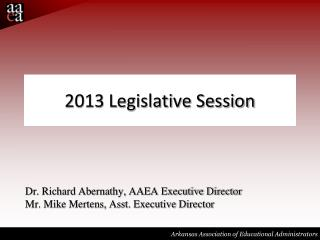2013 Legislative Session