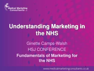 Understanding Marketing in the NHS