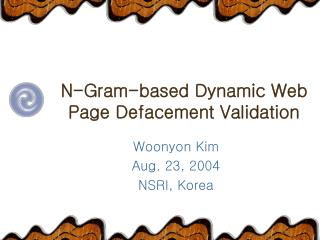 N-Gram-based Dynamic Web Page Defacement Validation