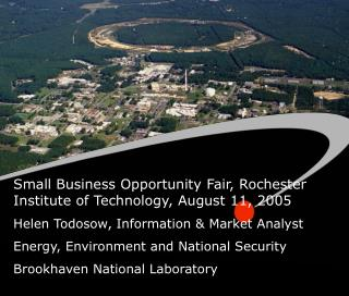 Small Business Opportunity Fair, Rochester Institute of Technology, August 11, 2005