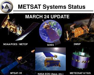 METSAT Systems Status