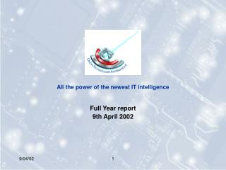 All the power of the newest IT intelligence