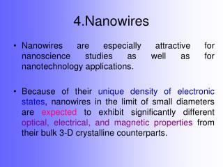 4.Nanowires