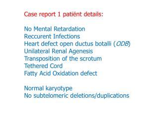 250K NspI SNP Array results