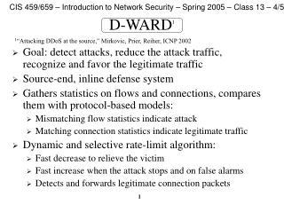 D-WARD 1
