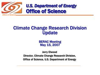 U.S. Department of Energy Office of Science