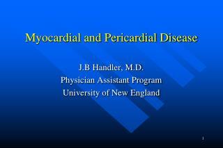 Myocardial and Pericardial Disease