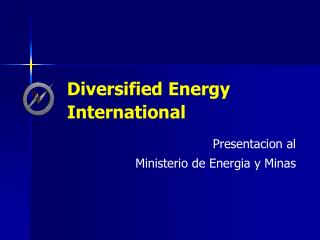 Diversified Energy International