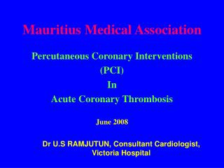 Mauritius Medical Association