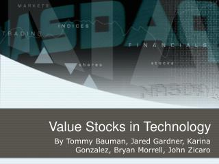 Value Stocks in Technology
