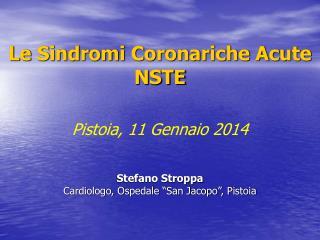 Le Sindromi Coronariche Acute NSTE