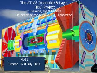 The ATLAS  Insertable  B-Layer  (IBL) Project C. Gemme, INFN Genova