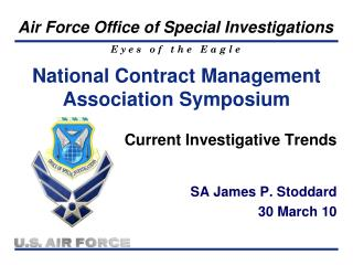 National Contract Management Association Symposium