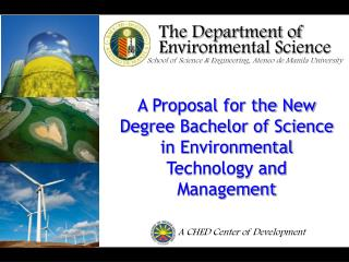 The Department of Environmental Science