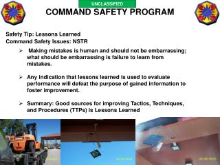 COMMAND SAFETY PROGRAM