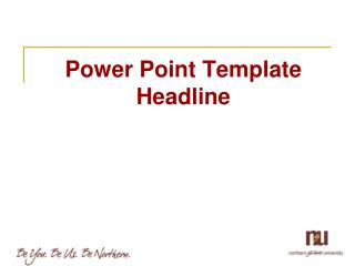 Power Point Template Headline