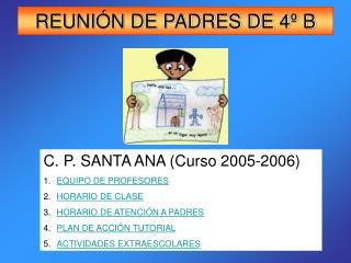 REUNIÓN DE PADRES DE 4º B