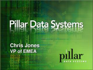 Chris Jones VP of EMEA