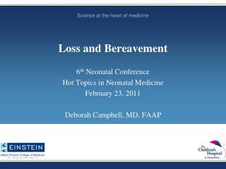 Loss and Bereavement