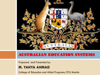 AUSTRALIAN EDUCATION SYSTEMS