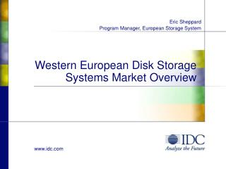 Western European Disk Storage Systems Market Overview