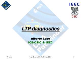 LTP diagnostics