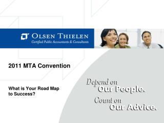 2011 MTA Convention