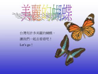 美麗的蝴蝶